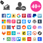 Social Connects 40 in 1 + Coupon for Login + Statistics - logo