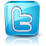 Twitter connect simple logo